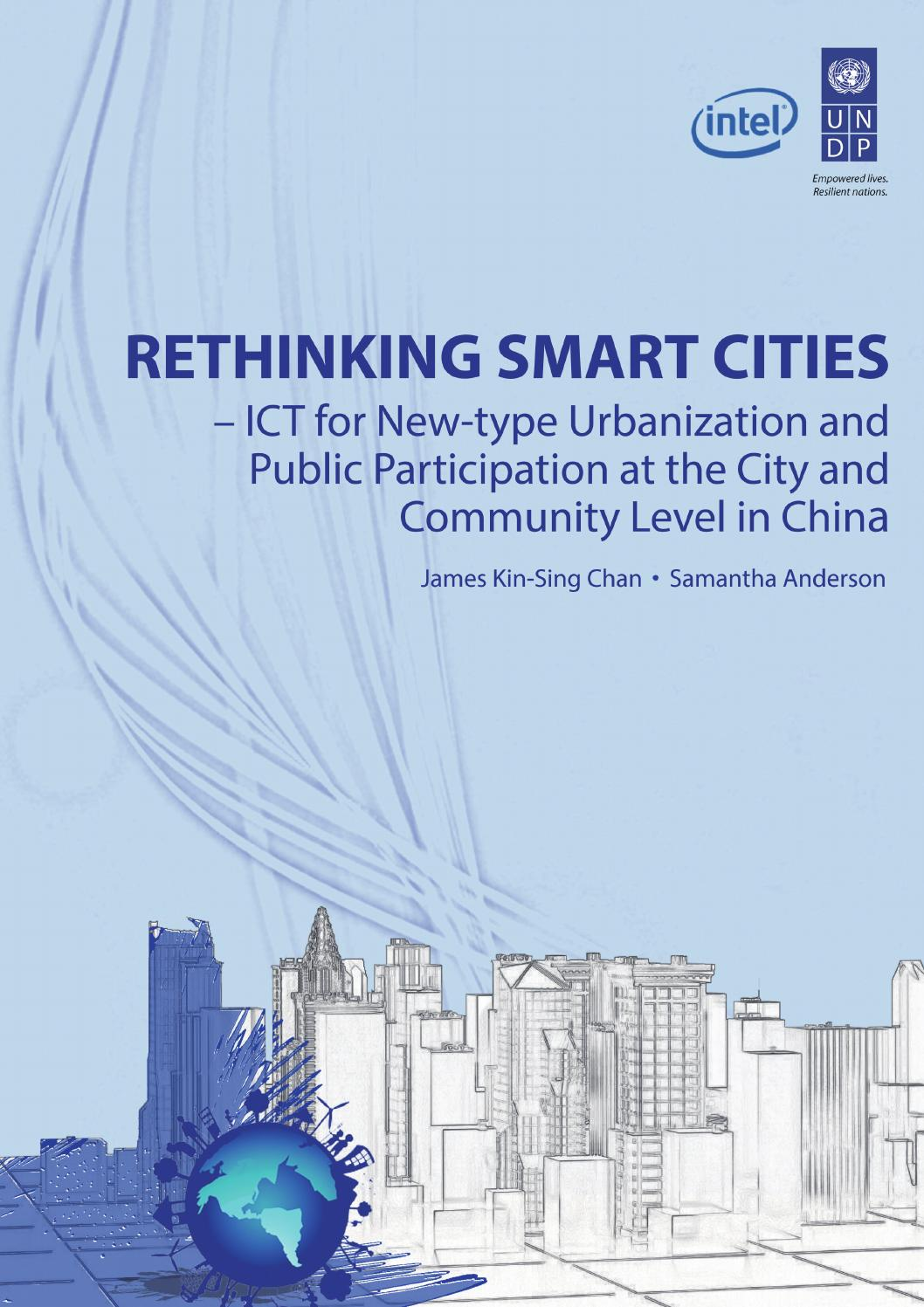 Rethinking Smart Cities Report (English) by United Nations ...