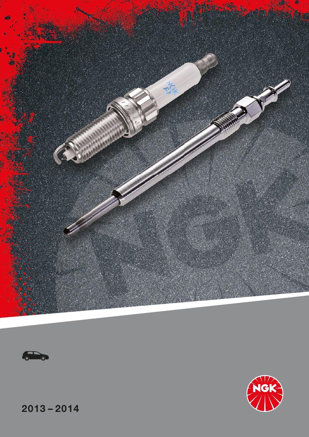 KIT 4 CANDELE NGK SPARK PLUG BKR6E ROVER 214 Mk 2 1.4 K Series 1989