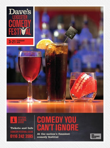 Dave's Leicester Comedy Festival 2016: 3 - 21st FebruaryDlcf