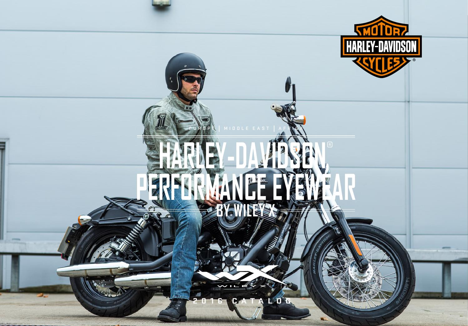 8d87e9006a Harley-Davidson Performance Eyewear by Wiley X 2016 English Catalog ...