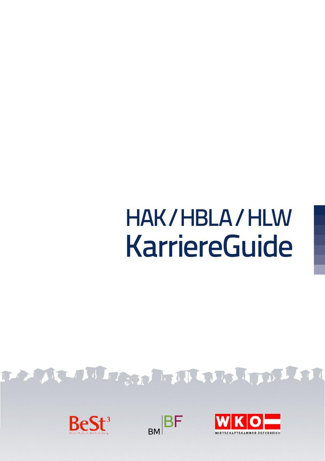 HAK/HBLA/HLW KarriereGuide 2016 by Business Cluster Network GmbH - issuu