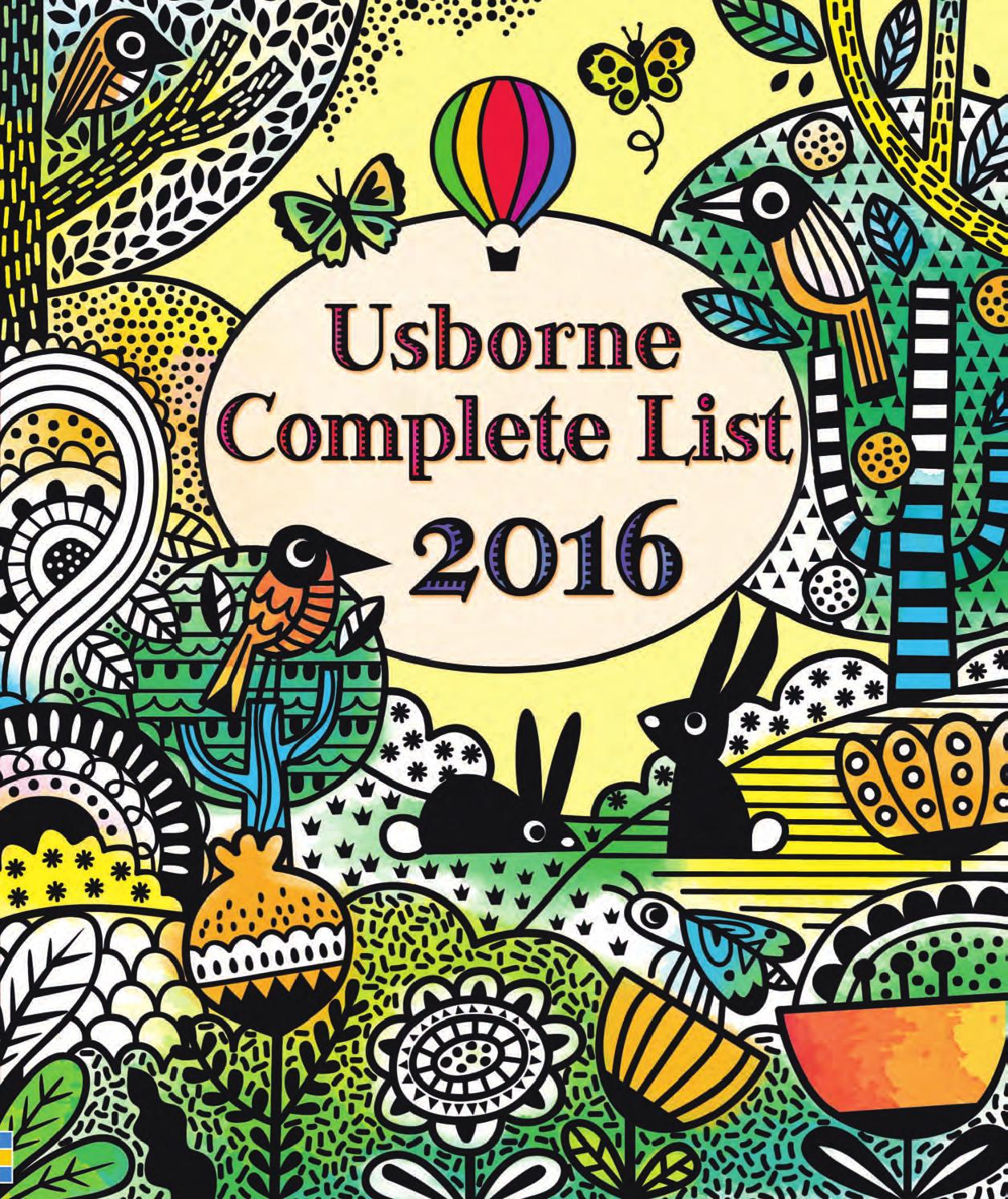 Usborne complete list 2016 by usborne books at home issuu fandeluxe Images