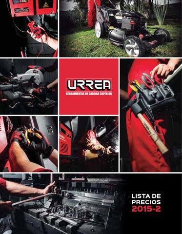 7b0a068bdc92 Catalogo Herramienta Urrea 2015 by FISA Ferreteria Industrial ...