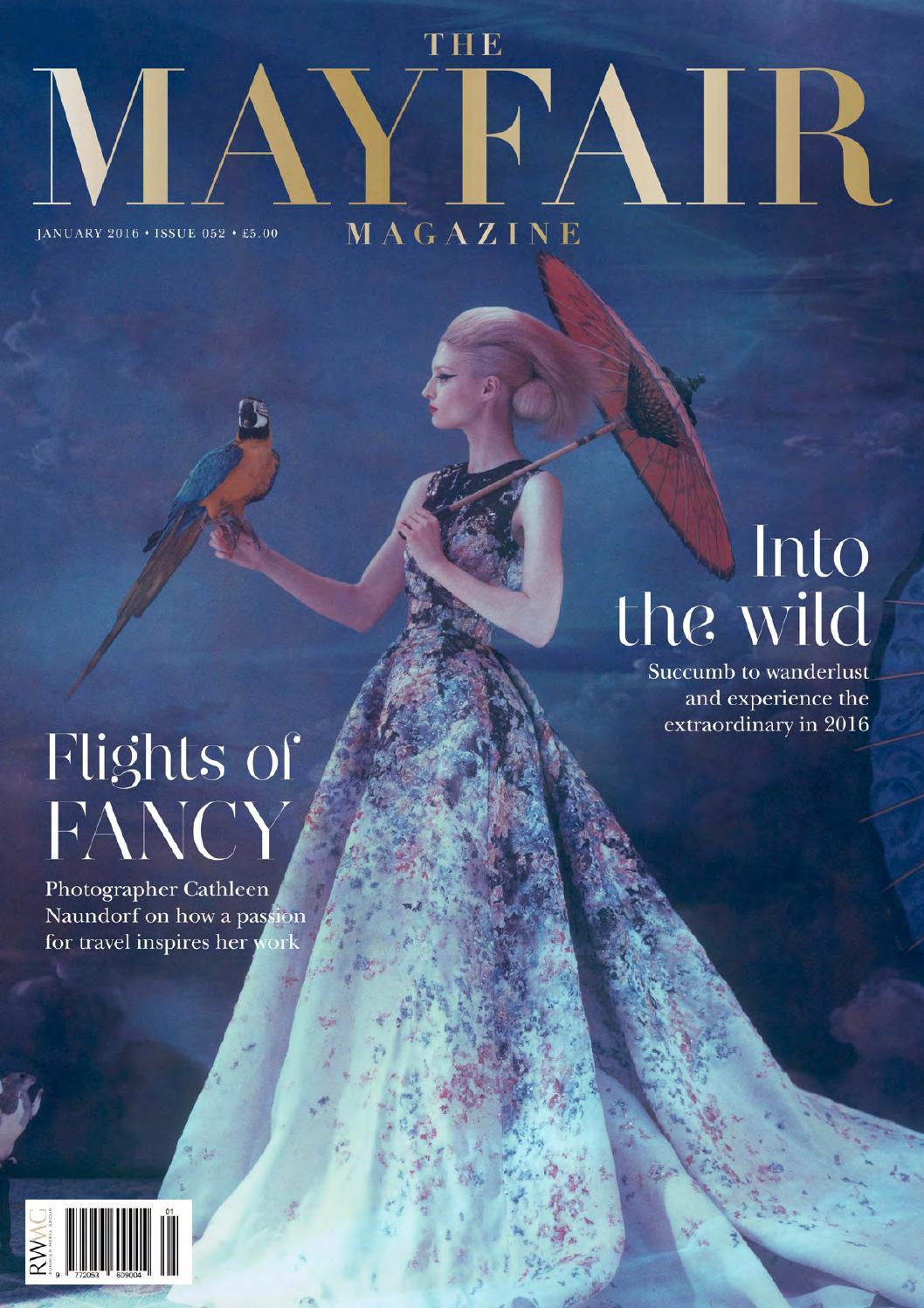 The Mayfair Magazine January 2016 By Runwild Media Group