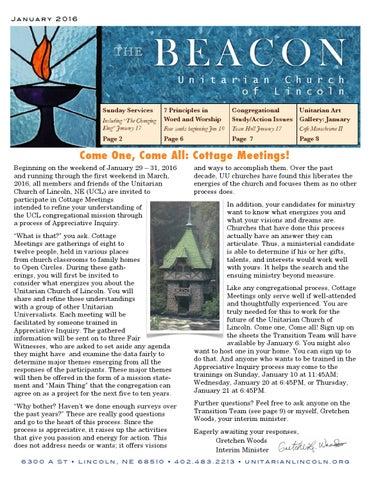 Beacon Jan2016 By Unitarian Web Issuu