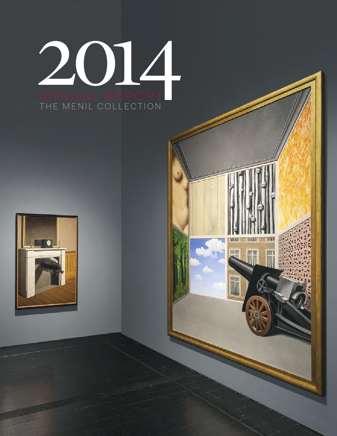 2014 The Menil Collection Annual Report By