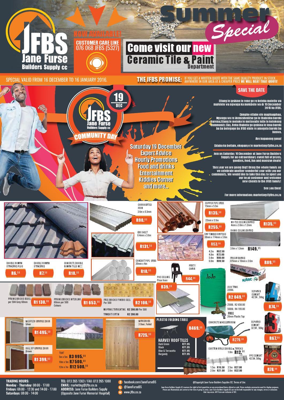 Jfbs December 2015 By Jane Furse Builders Supply Issuu
