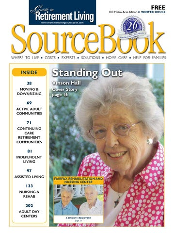 Guide To Retirement Living Sourcebook Dc Winter 2015 16 By