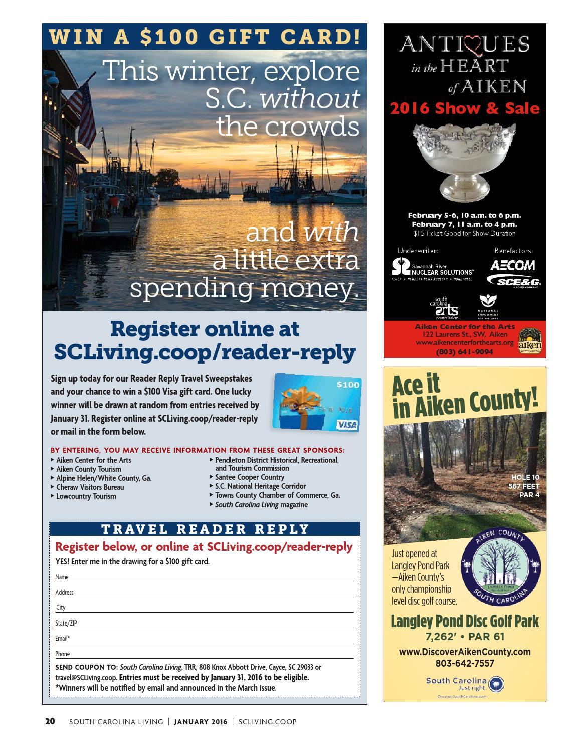 South Carolina Living January 2016 by American MainStreet