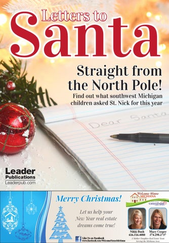 santa letters to