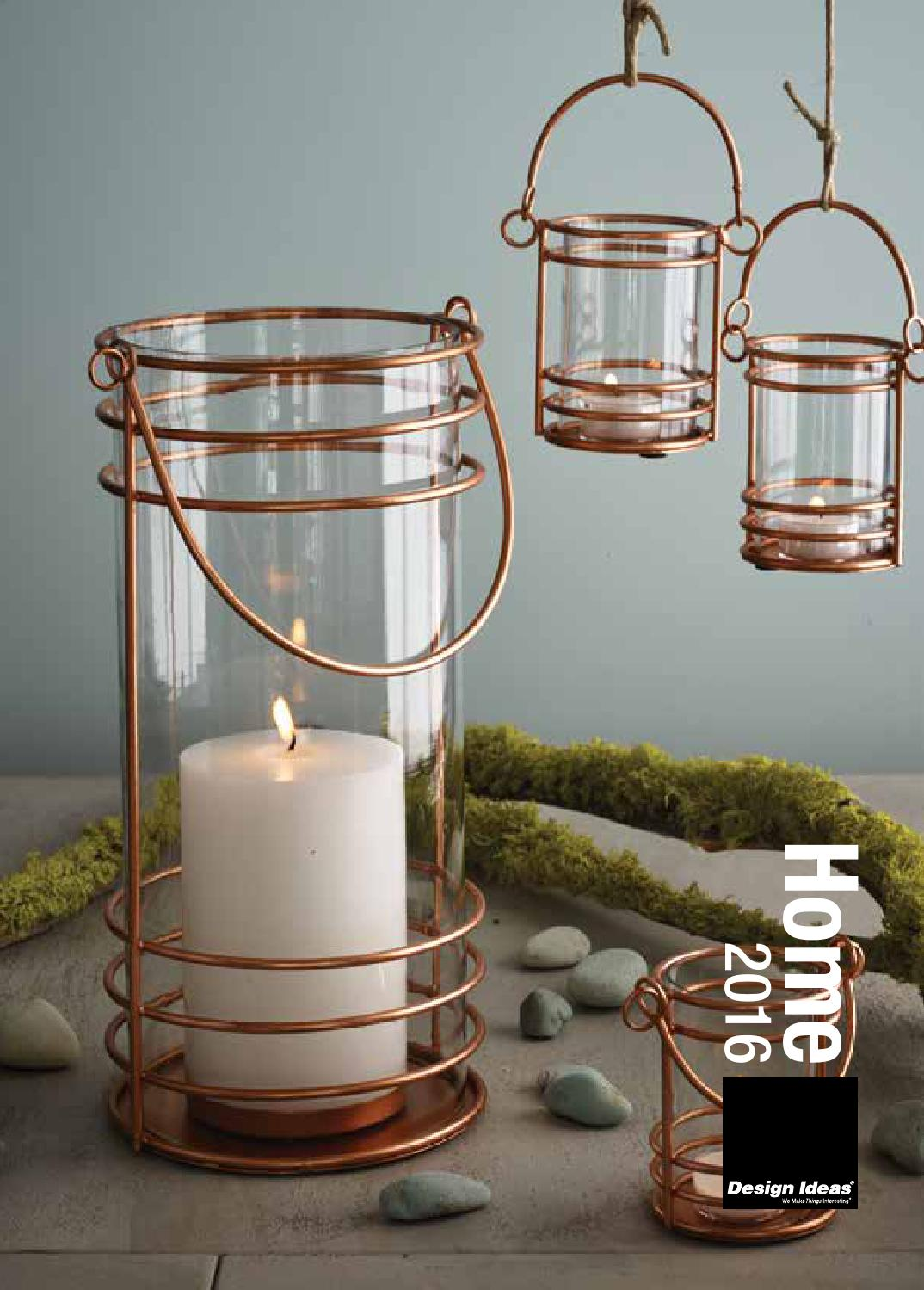Melrose 15 Brown and Orange Autumn Harvest Maple Leaf Pillar Candle Lantern