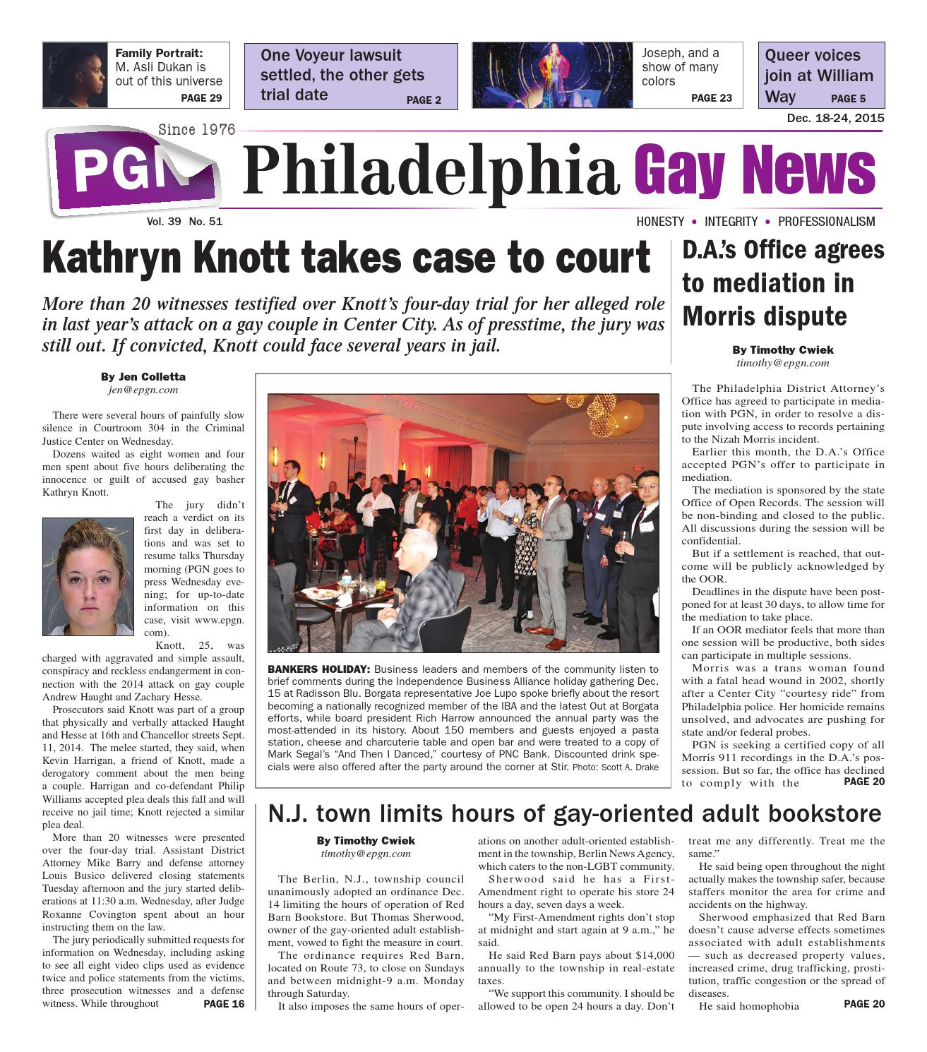 Actor Porno Gay Paco And Tim pgn dec. 18-24, 2015the philadelphia gay news - issuu