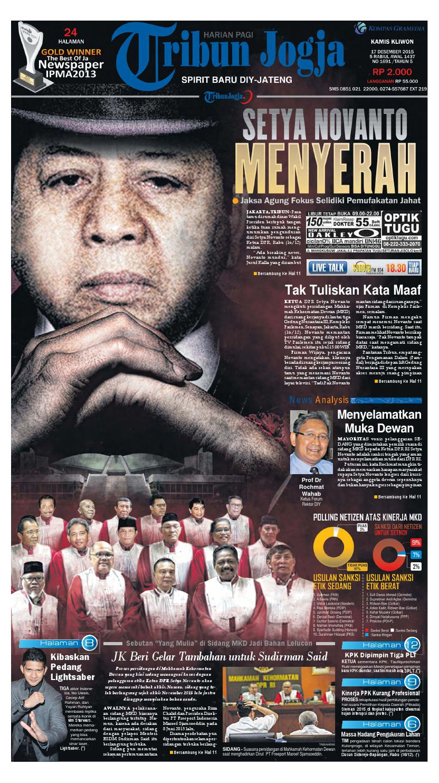 Tribunjogja 17 12 2015 By Tribun Jogja Issuu Produk Ukm Bumn Batik Tulis Babon Angrem
