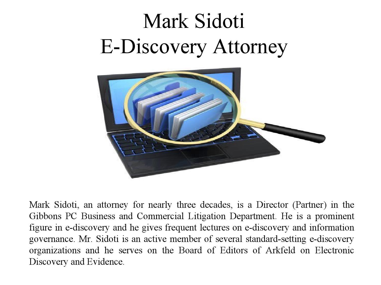 mark sidoti e discovery attorney by mark sidoti issuu