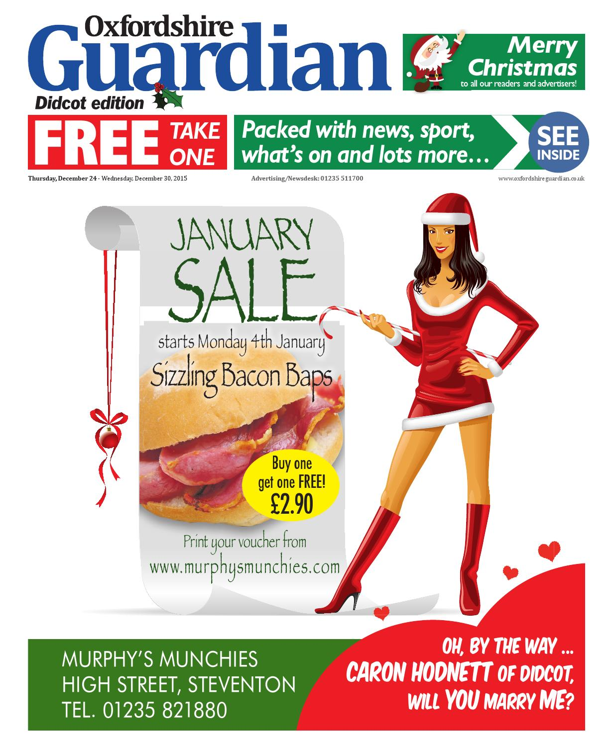 24 december 2015 oxfordshire guardian didcot by Taylor Newspapers issuu