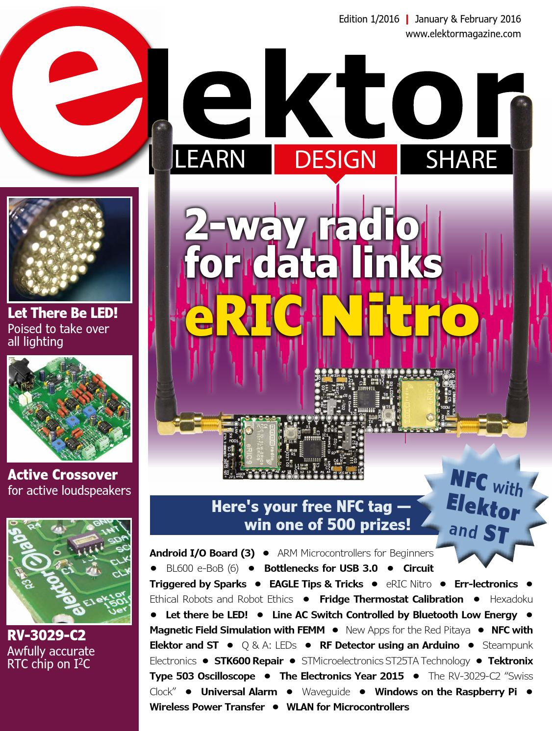 Elektor Edition 1 2016 By Issuu Active Crossover Wiring Diagram