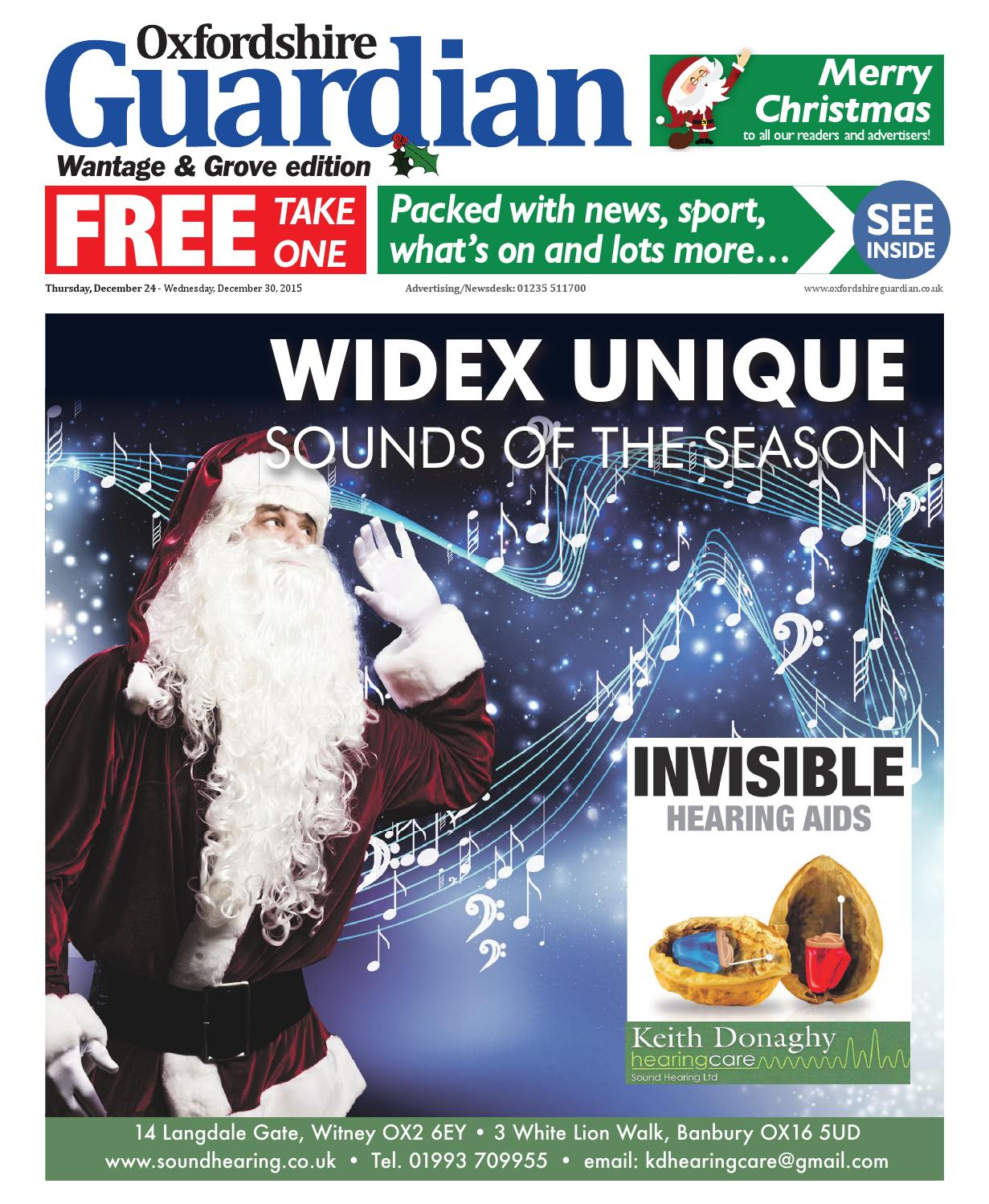 d3a2a20bd7b7 24 december 2015 oxfordshire guardian wantage by Taylor Newspapers ...