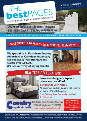 Best Pages North Yorkshire January 2016 By Your Local Link Ltd Issuu