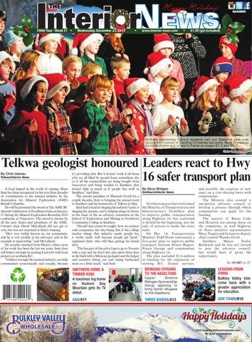 Smithers Interior News, December 23, 2015