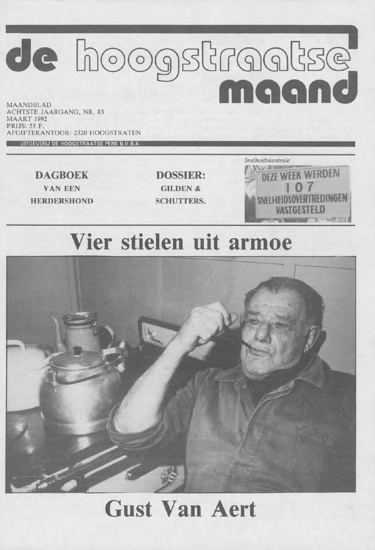be3a252e3fd maart 1992 - De Hoogstraatse Maand by De Hoogstraatse Maand - issuu