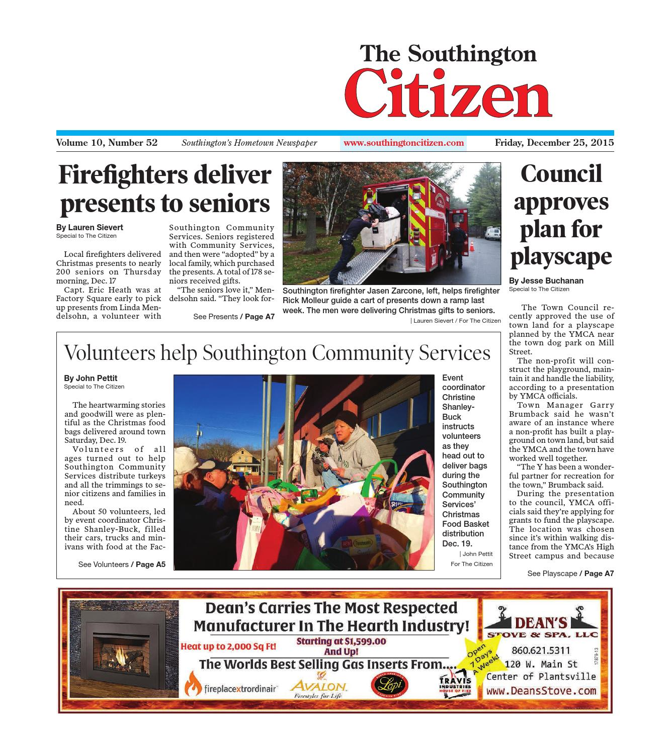 20151225southingtoncitizen by dan champagne issuu