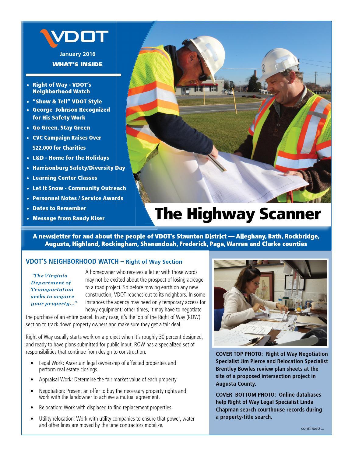 Highway Scanner Jan 2016