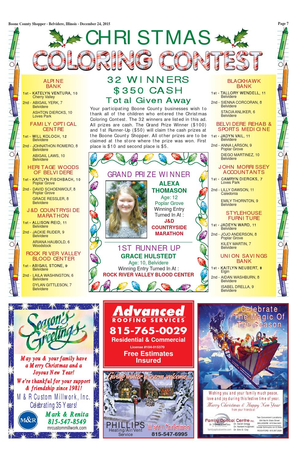 Boone County Shopper December 24, 2015 by Boone County ...
