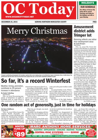 12/25/15 Ocean City Today by ocean city today - issuu