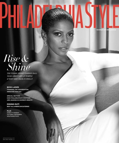 316de54ed3 Philadelphia Style - 2015 - Issue 2 - Late Spring - Tamron Hall by ...