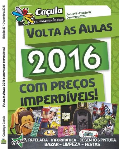 64f0b4ec0 Catalogo Caçula, Edição 87 by Caçula Papelaria - issuu