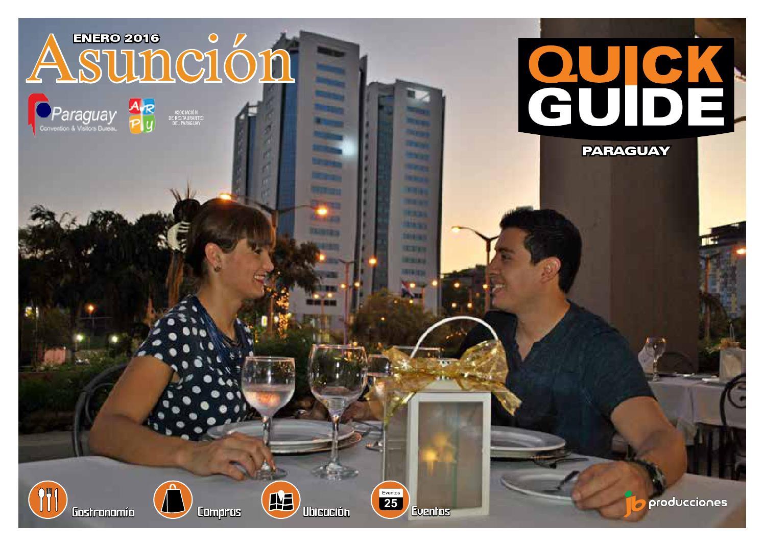 Quick Guide Asunci N Paraguay Tour Itapua Edici N Enero  # Muebles Narciso Caaguazu