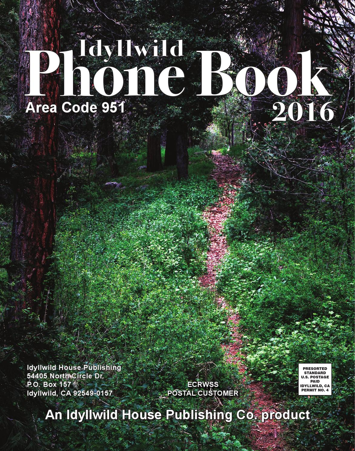 Palm Springs Subaru >> 2016 Idyllwild Phone Book by Idyllwild Town Crier - Issuu