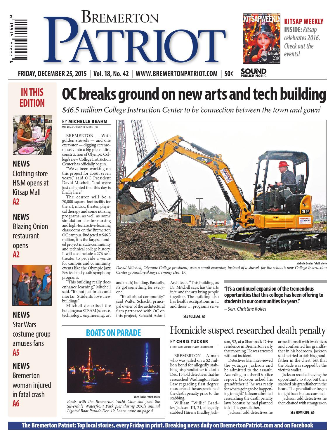 bremerton patriot, december 25, 2015 by sound publishing - issuu