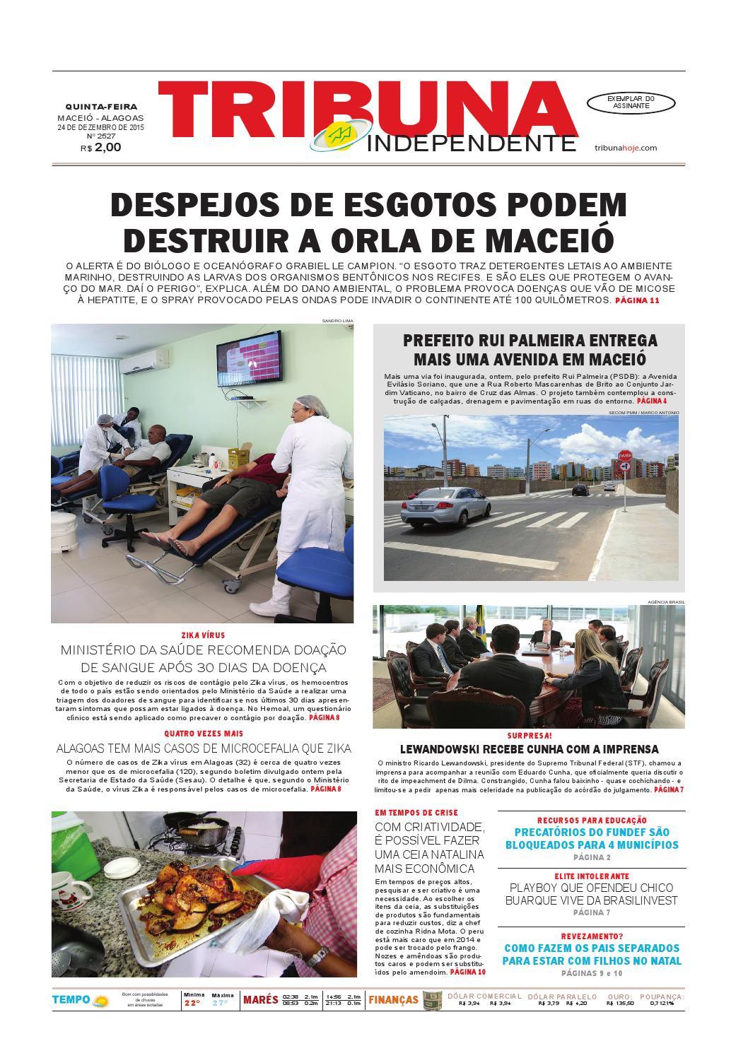 f311bc75b Edição número 2527 - 24 de dezembro de 2015 by Tribuna Hoje - issuu