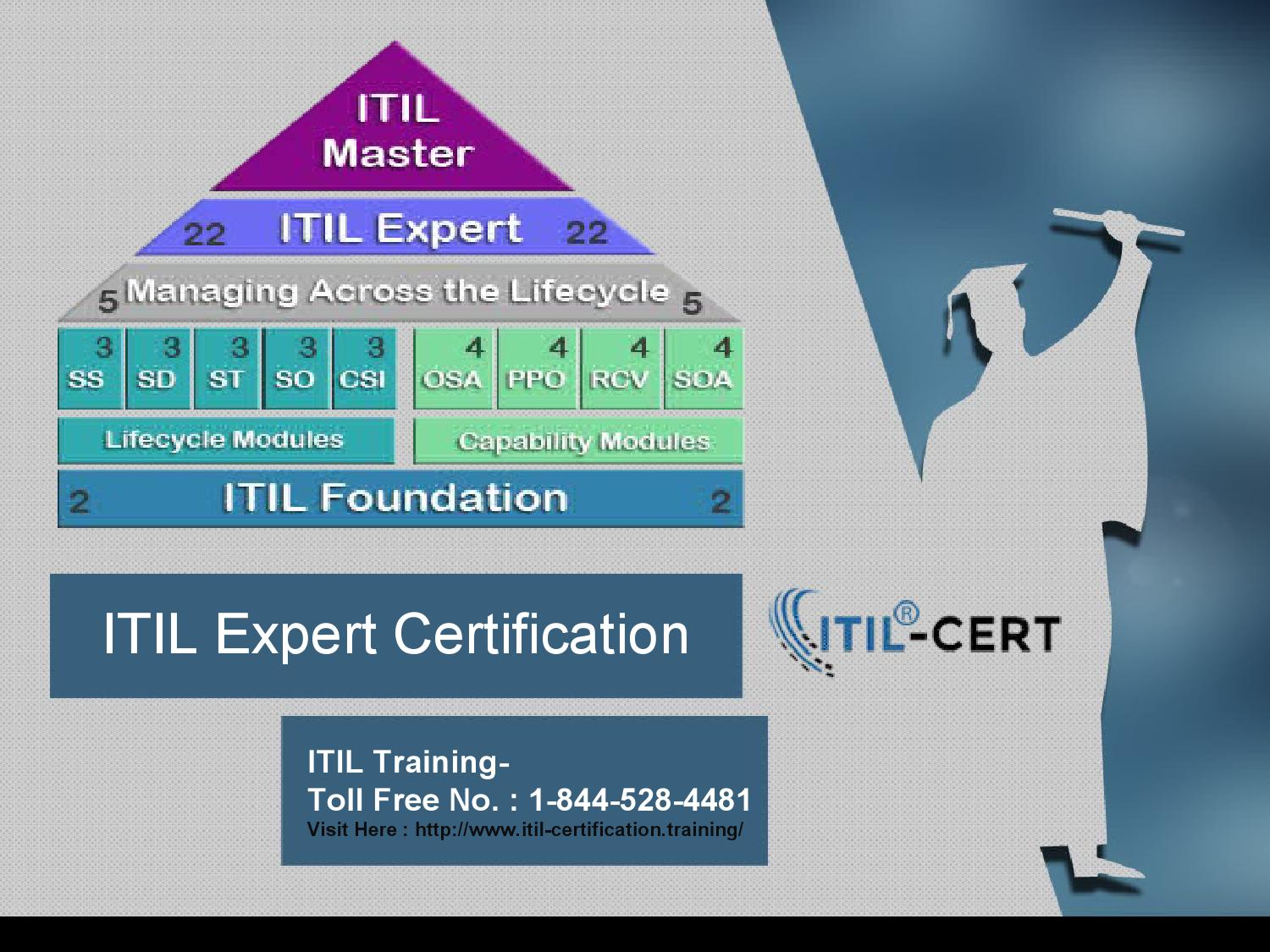 Itil Expert Certification 1 844 528 4481 By Jennifer Smith Issuu