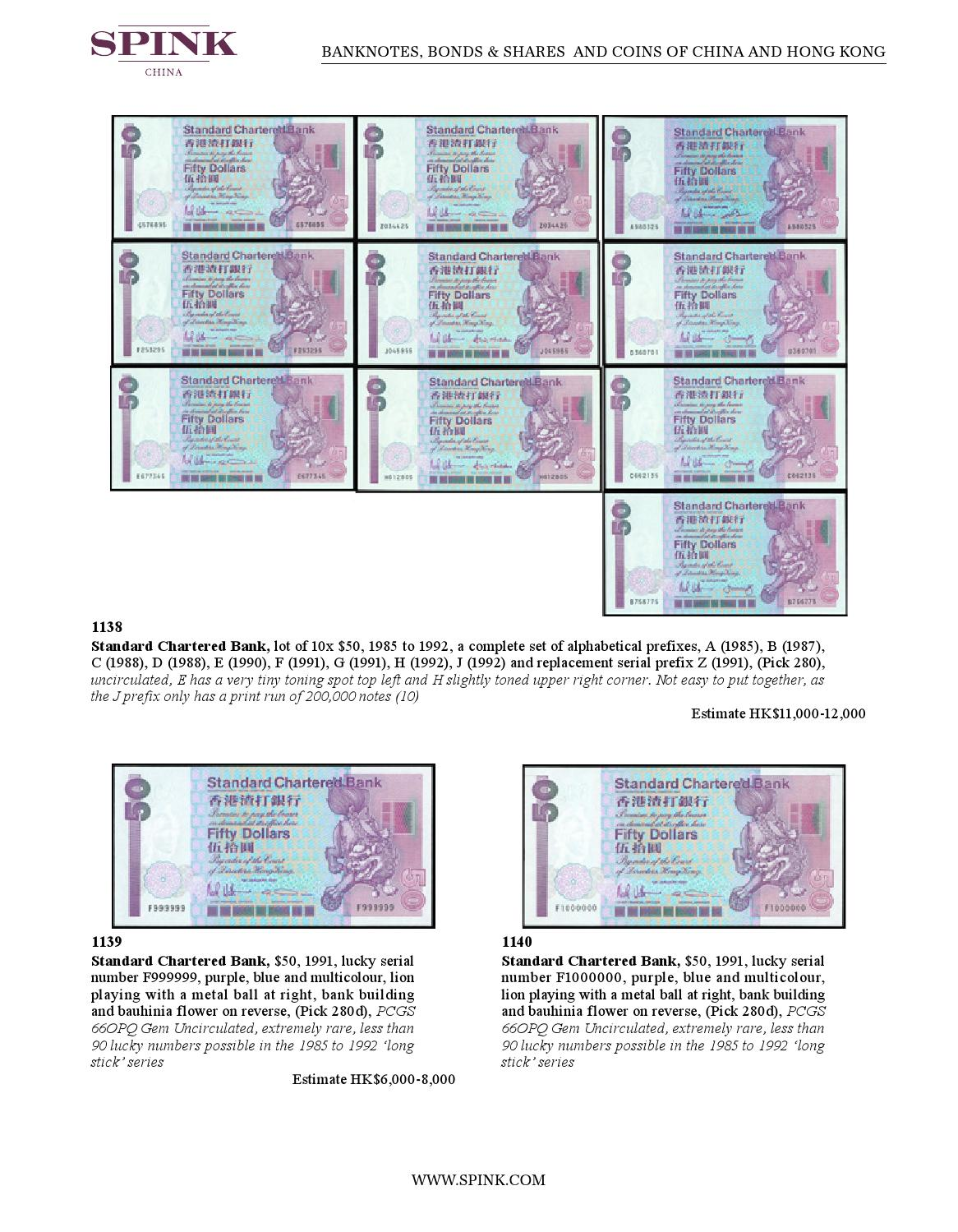16011 - BANKNOTES, BONDS AND SHARE CERTIFICATES AND COINS OF CHINA AND HONG  KONG