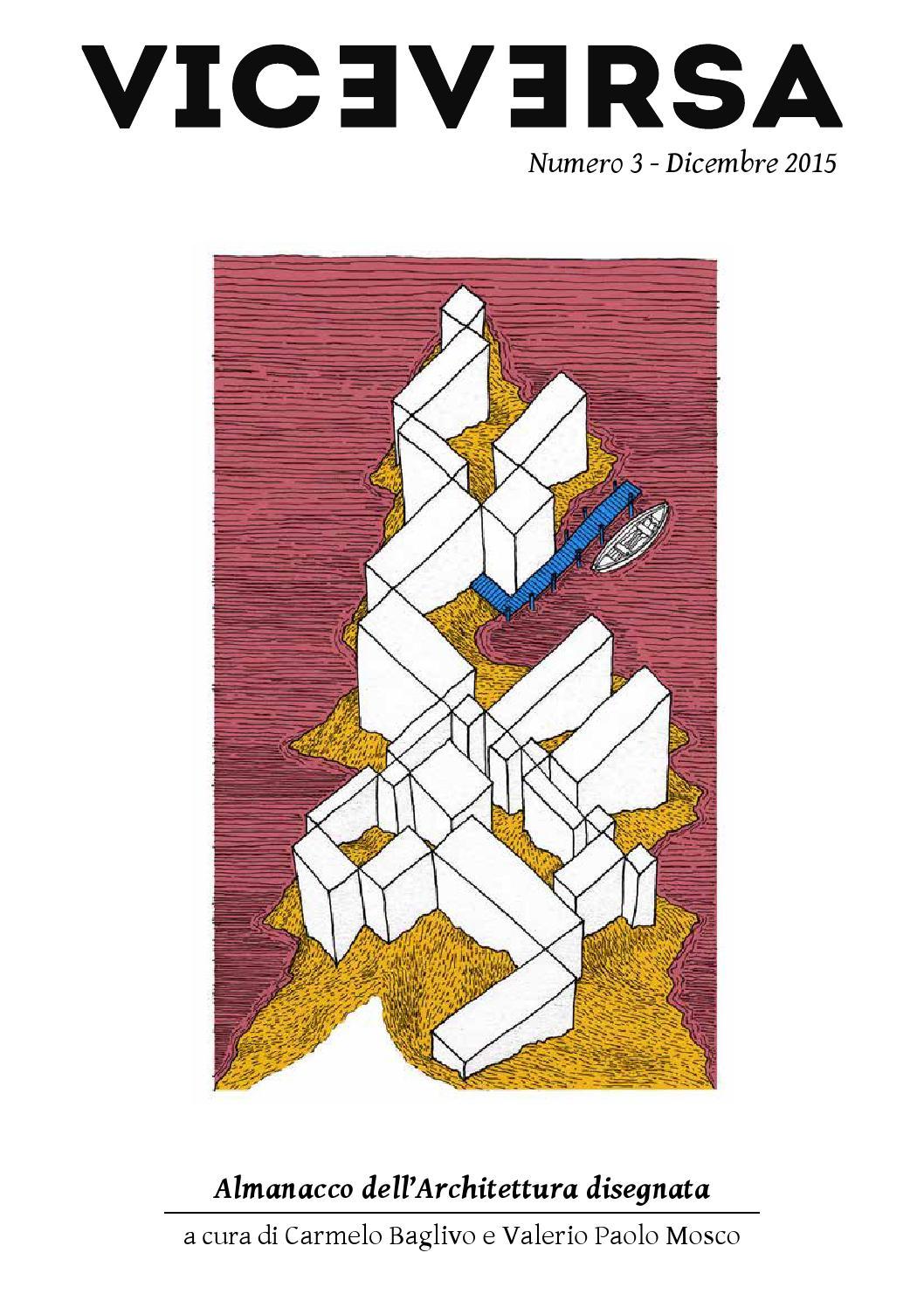 Viceversa 3 almanacco dell 39 architettura disegnata by 011 for Architettura disegnata