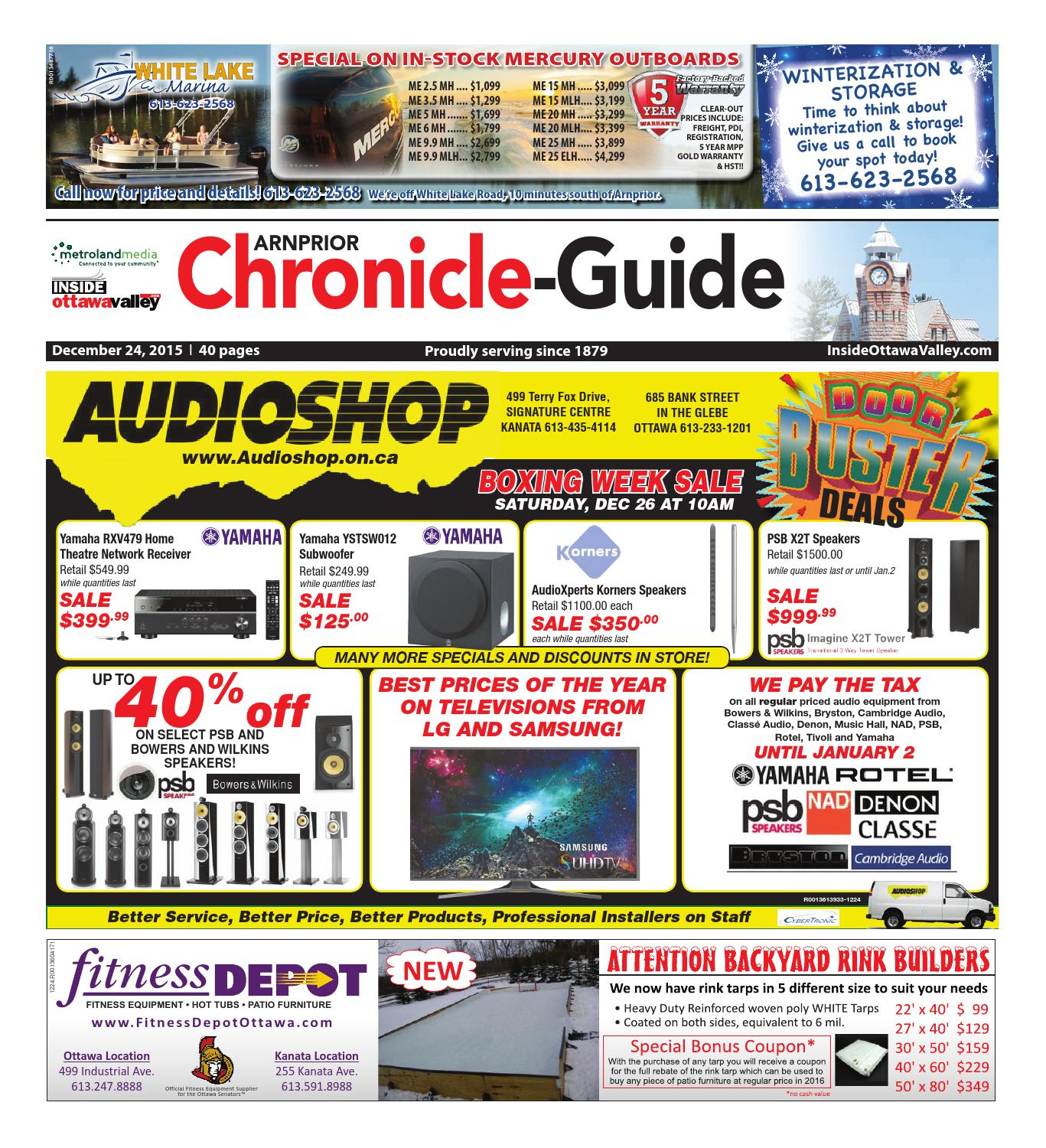 Arnprior122415 By Metroland East Arnprior Chronicle Guide