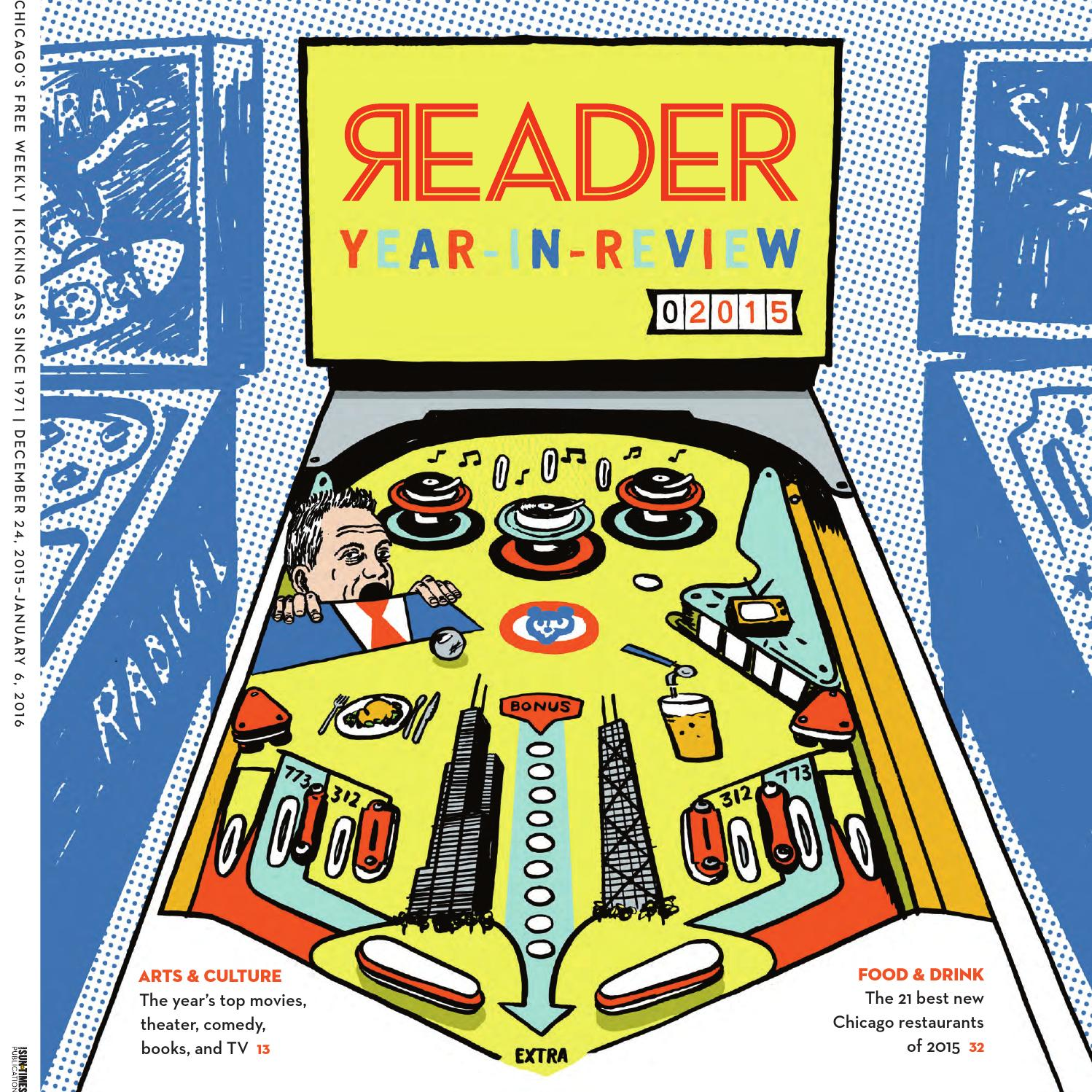 Chicago Reader: print issue of December 24, 2015 (Volume 45