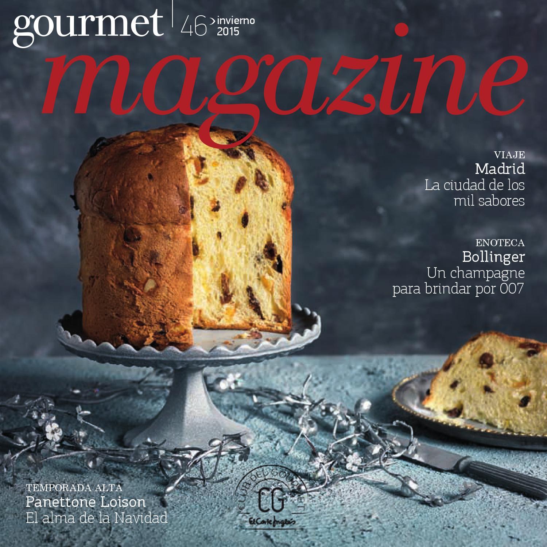El Corte Ingl S Gourmet Magazine Invierno 2015 16 By Andr  ~ Tazas Para Infusiones El Corte Ingles