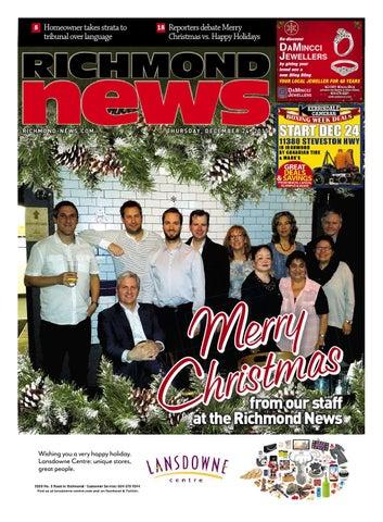 Richmond News December 24 2015 by Richmond News - issuu