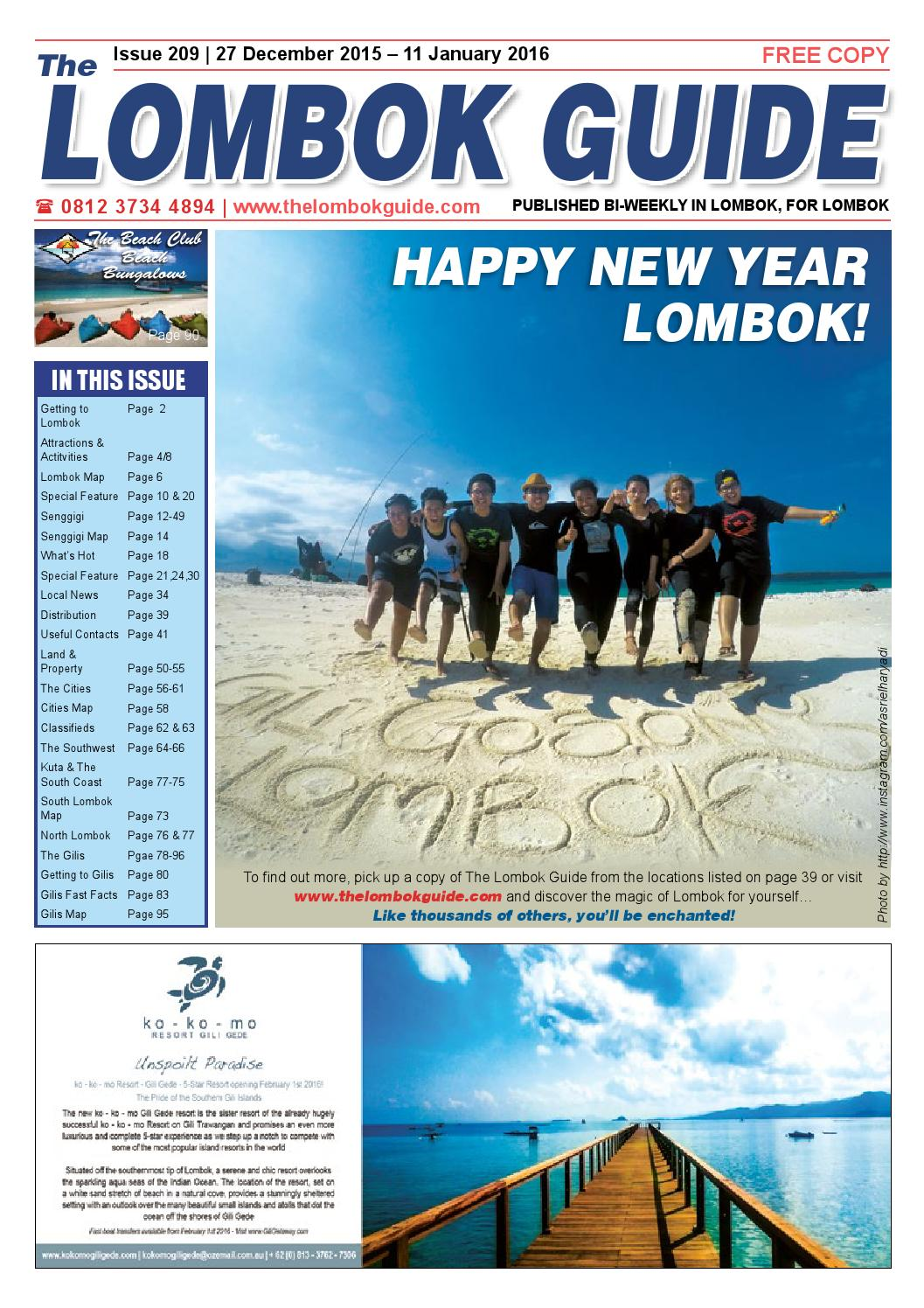 The Lombok Guide Issue 209 By Issuu Agung Voucher Hypermart 50000 Bth