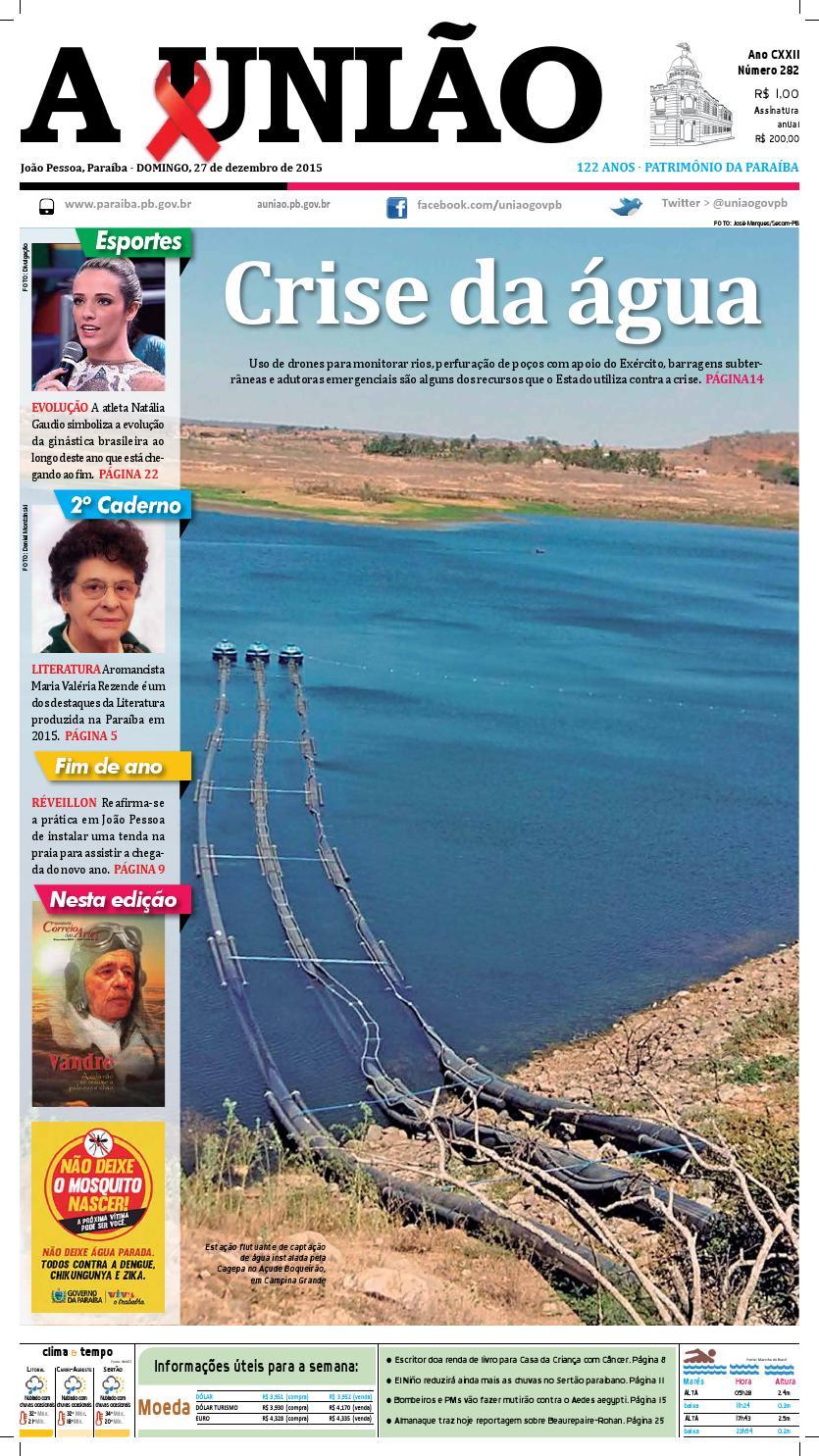 Jornal A União - 27 12 2015 by Jornal A União - issuu 08635929a11