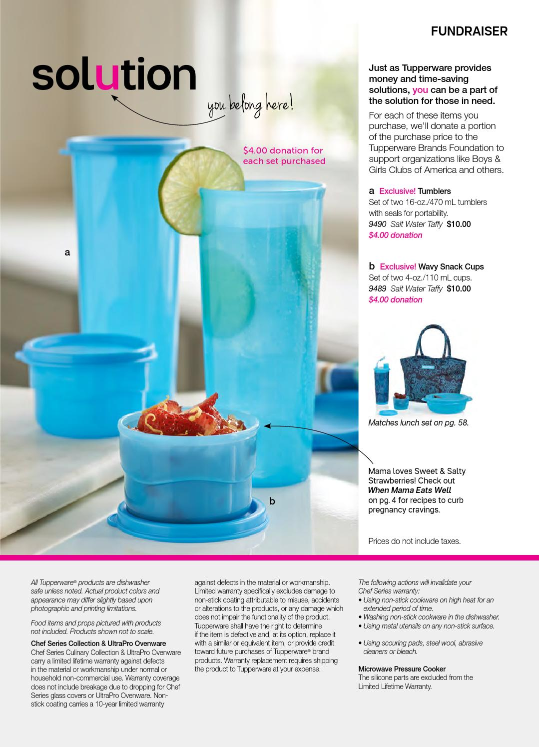 CAN) 2016 Tupperware - Winter/Spring Catalogue by MYTWPAGE