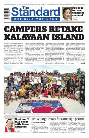 The Standard - 2015 December 28 - Monday by Manila Standard