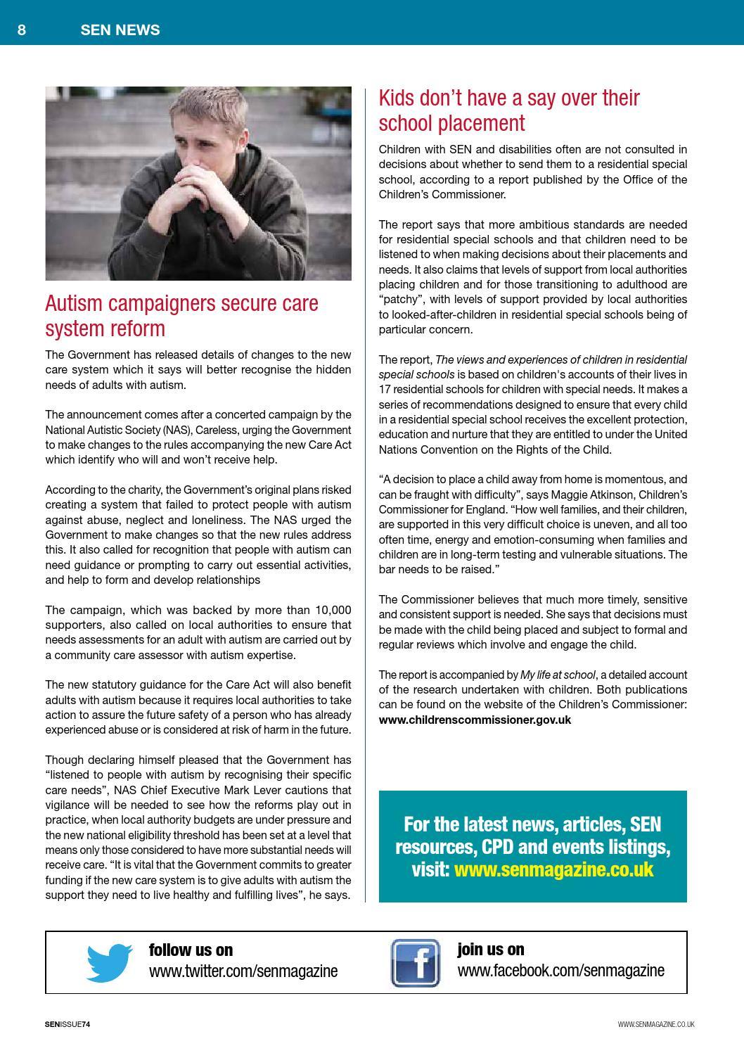SEN Magazine - SEN74 - Jan/Feb 2015 by SEN Magazine - issuu