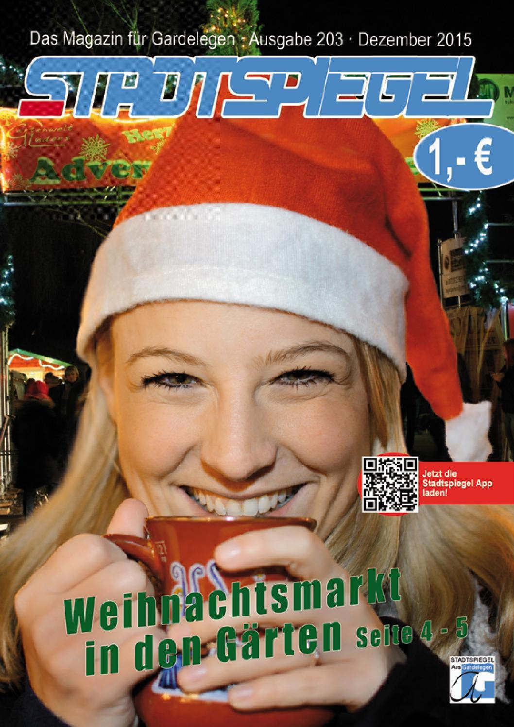 Stadtspiegel Gardelegen Dezember 2015 by Jana Friedrich - issuu