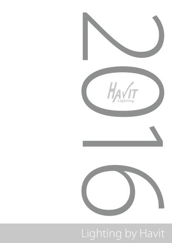 Havit Lighting Catalogue 2017 By Issuu