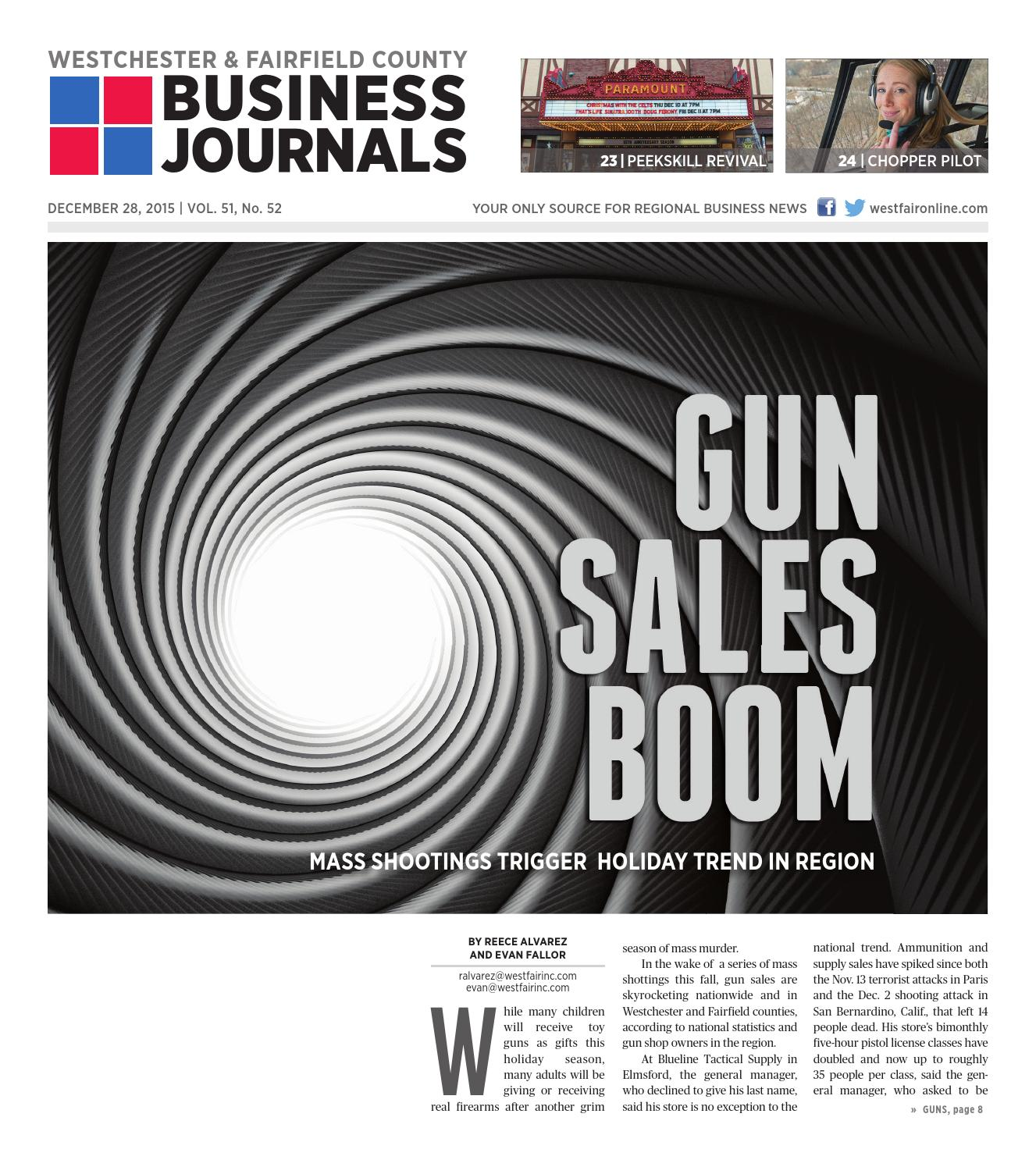 Westchester and Fairfield County Business Journals (Combined