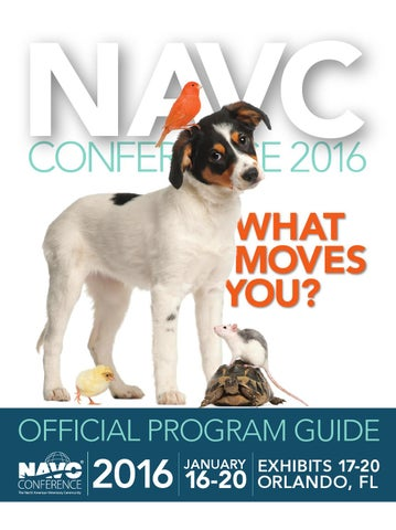 Official Program Guide - The NAVC Conference 2016 by NAVC - issuu 32b6872b9